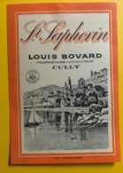10158 - St-Saphorin Louis Bovard Cully Suisse - Etiquettes