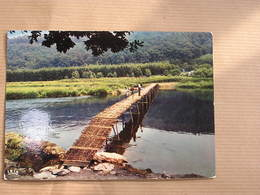 PONT DE CLAIES Vallée De La Semois Laforêt Ardennes België Belgique Carte Postale Postcard - België