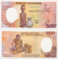 CENTRAL AFRICAN REP.       500 Francs       P-14c       1.1.1987       UNC - Repubblica Centroafricana