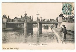 """Saint-Quentin / Le Pont / Ed. Bloch, """" Galeries Du Progrès """" - Saint Quentin"""