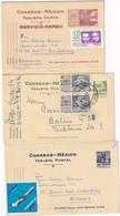 MEXIQUE  ENTIER POSTAL/GANZSACHE/POSTAL STATIONERY   LOT DE 3 CARTES - Mexico
