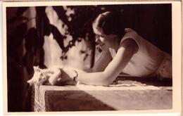 Cat Portrait.1930s.Very Nice! - Katten