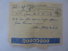 """Telegramma Pubblicitario """"OLIVETTI"""" Per Salerno 1959 - 6. 1946-.. Repubblica"""