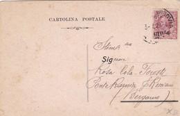 CARTOLINA POSTALE - GENOVA - CONGREZIONE OP. DI S. GIUSEPPE -  VIAGGIATA PER (BERGAMO) - 1900-44 Vittorio Emanuele III