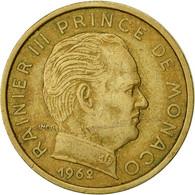 Monnaie, Monaco, Rainier III, 10 Centimes, 1962, TTB, Aluminum-Bronze, KM:142 - Monaco