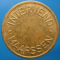 KB218-1 - INTERVEND MAARSSEN - Maarssen - B 20.0mm - Koffie Machine Penning - Coffee Machine Token - Professionnels/De Société