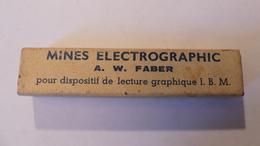 Boite Ancienne De Mines Electrographic A.W FABER - Autres Collections