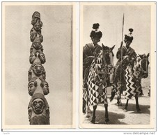 Les Colonies - CAMEROUN - 2 Cartes - Voyagé 1953 - Voir Scan - Cameroun
