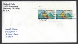 YN306   USA 2000 Cover From Pago Pago To Austria - American Samoa FDC - Scott 3389 - Stati Uniti