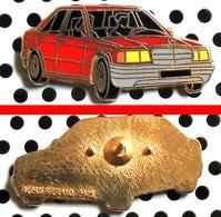 Arthus Bertrand : Automobile MERCEDES Berline Rouge - Arthus Bertrand