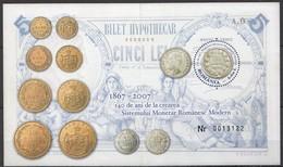 L209 2007 ROMANIA MONEY COINS MONETAR ROMANESC MODERN 1BL MNH - Monnaies