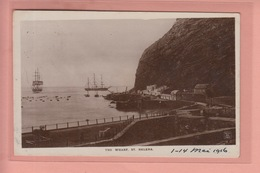 OLD PHOTO POSTCARD SAINT HELENA - THE WHARF 1916 - Sainte-Hélène