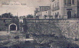 SIRACUSA  - LA FONTANA ARETUSA  -  1922 - Siracusa