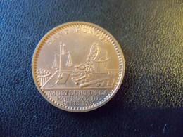 Ancien Jeton Publicitaire En Cuivre Ajusteurs De La Monnaie De Paris Magasin De Vente 10 Rue De 4/09. - Monnaie De Paris