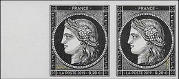 France N° 5y10 P ** BDF. Les 170 Ans Du Premier Timbre-poste Français CÉRÈS, Pour Complément 0.20 - France