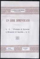 BIOGRAFIA DI PADRE ALESSANDRO DI MEO DA VOLTURARA IRPINA 1936 - UN EROE DIMENTICATO - ED. A CAPOSELE - Storia, Biografie, Filosofia