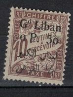 GRAND LIBAN       N° YVERT   TAXE  6  NEUF SANS CHARNIERES     ( NSCH 1/25 ) - Great Lebanon (1924-1945)