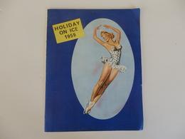 Programme Holiday On Ice 1959. - Programmes