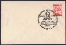 YN307   Austria Wien 1964 / Medicine / Congress Of Ophthalmology / Joseph Georg Beer / Special Postmark - Medicina