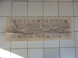 """Carte De La Descente Du Fleuve """"Le Rhin"""" En Allemagne. - Cartes Géographiques"""