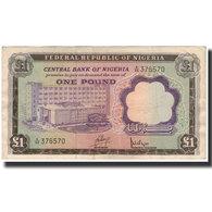 Billet, Nigéria, 1 Pound, 1968, KM:12a, TB+ - Nigeria