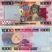 SIERRA LEONE       1000 Leones       P-30[b]       4.8.2013       UNC - Sierra Leona