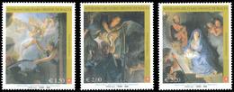Ordre De Malte SMOM 0959/61 Tableaux, Musée Du Louvre Paris, Charles Le Brun, Adoration, Nativité - Museums