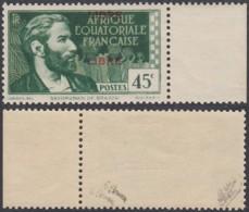 AEF - 1940 Timbre Yv 130 Neuf Sans Charnières Double Surcharge - Signé Brun Et Calves  (7G29710) DC2418 - Unused Stamps