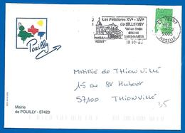 Mairie - 57420 POUILLY (35) 18 Octobre 2005 - Marcofilie (Brieven)