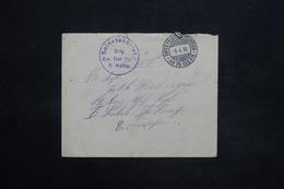 ALLEMAGNE - Enveloppe En Feldpost En 1916 , Voir Cachet Militaire- L 25238 - Germany