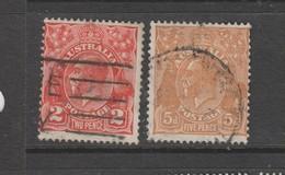Yvert 73 / 74 Oblitérés - Used Stamps