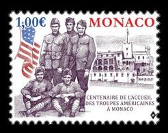 Monaco 2019 Mih. 3438 World War I. US Troops' Convalescene In Monaco MNH ** - Monaco