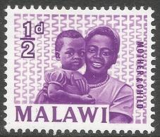 Malawi 1964 Definitives. ½d MH. SG 252 - Malawi (1964-...)