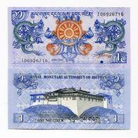 Bhutan 1 Ngultrum 2006 UNC Banknote Paper Money P27 - Bhutan