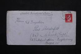 ALLEMAGNE - Enveloppe De Herfeld Pour Minsk En 1944 , Voir Cachet - L 25242 - Alemania