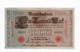 Allemagne - 1000 Mark - 21.04.1910 - L - [ 2] 1871-1918 : German Empire