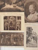 Lot 100 CPA Différentes De Tableaux - Postcards