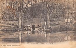 ¤¤  -   CHATILLON-sur-SEINE   -  Source Des Ducs   -  Lavoir , Laveuses     -  ¤¤ - Chatillon Sur Seine