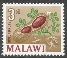 Malawi 1964 Definitives. 3d MH. SG 218 - Malawi (1964-...)