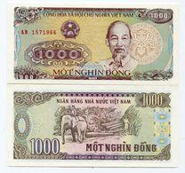 Vietnam 1000 Dong 1988 P106 UNC Banknote Paper Money - Vietnam