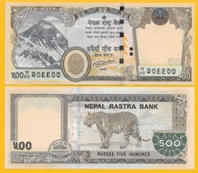 Nepal 500 Rupees P-new 2016 UNC Banknote - Népal