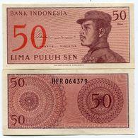 Indonesia 1964 UNC/XF Banknote 50 Sen P94a Paper Money - Indonésie