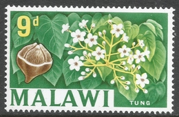 Malawi 1964 Definitives. 9d MH. SG 221 - Malawi (1964-...)