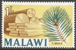 Malawi 1964 Definitives. 1/- MH. SG 258 - Malawi (1964-...)