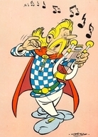 Uderzo Astérix Assurancetourix Harpe Chocolat Revillon - Bandes Dessinées