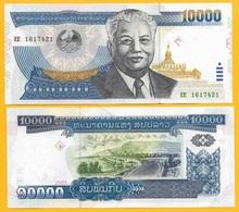 Laos 10000 (10,000) Kip P-35b 2003 UNC Banknote - Laos