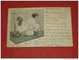 "FANTAISIES  - HUMOUR  - BEBES  -  "" Solidarité   ""  -  1902 - - Bébés"