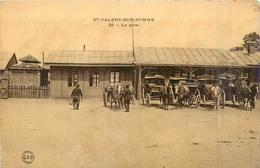80 SAINT VALERY SUR SOMME La Gare  2scans - Saint Valery Sur Somme