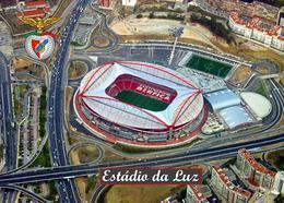 Portugal Benfica Luz Stadium New Postcard Satdion AK - Football