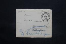 ALLEMAGNE - Enveloppe En Feldpost De Ludwigsburg En 1914 Pour Reutlingen - L 25248 - Briefe U. Dokumente